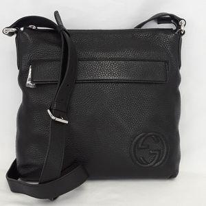 New GUCCI 322059 Soho Unisex Leather shoulder bad